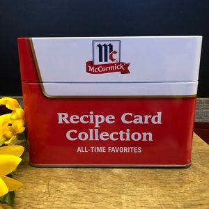 McCormick Recipe Card Collection